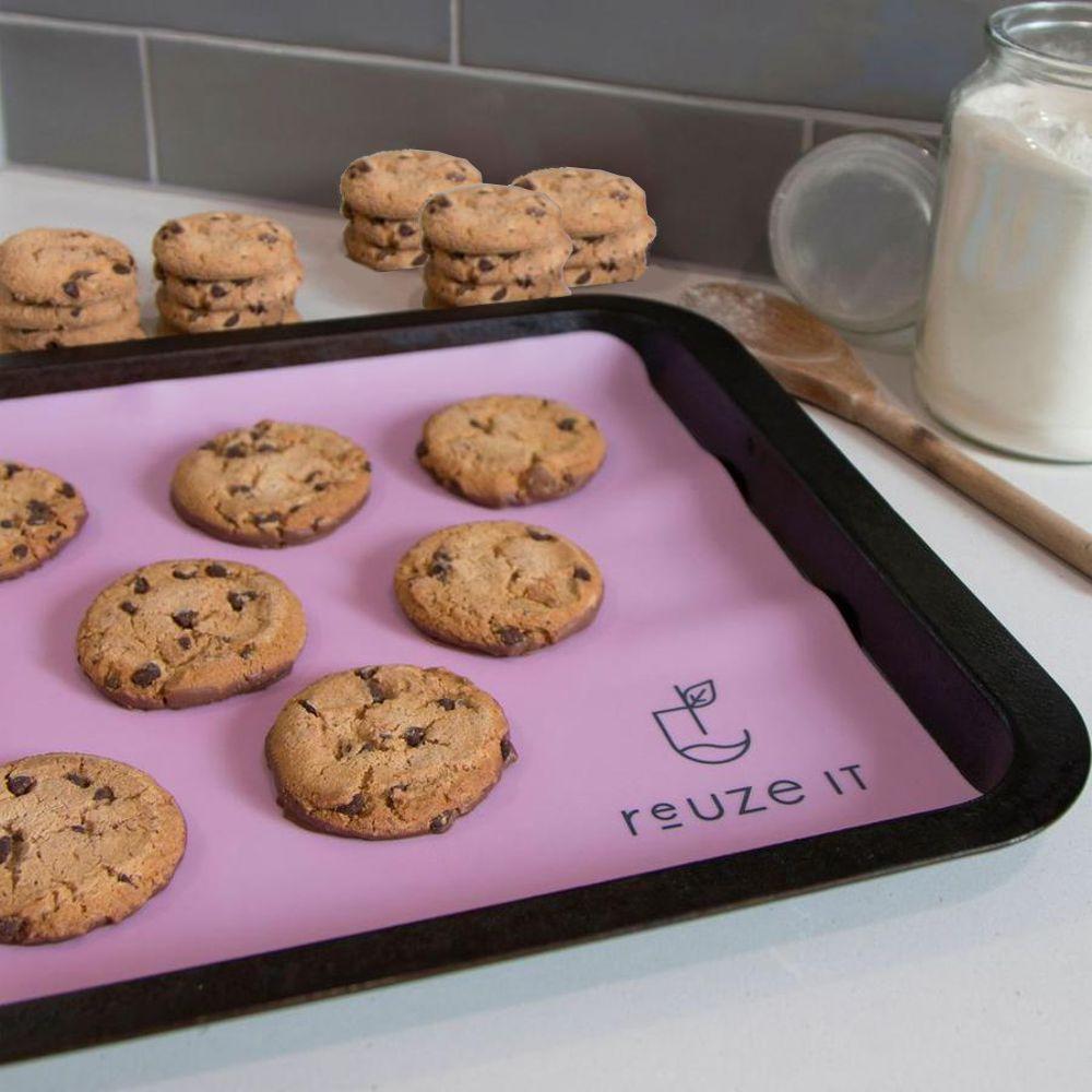 Pink baking mat 3
